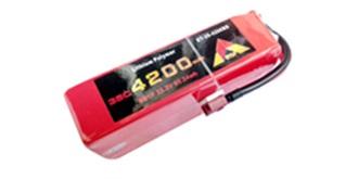 Accu LiPo Etop 4200-3S 11,1V 35C Deans