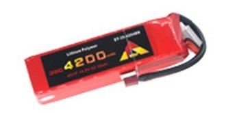 Accu LiPo ETOP 4200-4S 14.8V 35C Deans