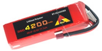 Accu LiPo Etop 4200-5S 18.5V 35C Deans