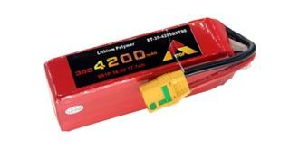 Accu LiPo ETOP 4200-5S 18.5V 35C XT90