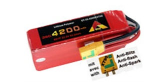 Accu LiPo ETOP 4200-6S (22,2V) 35C XT90 Anti-Sp