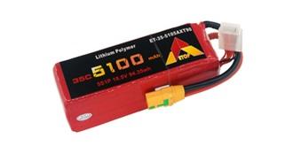Accu LiPo ETOP 5100-5S (18.5V) 35C XT90