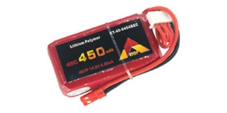Accu LiPo ETOP 450-4S 14.8V 45C BEC
