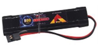 Accu 4,8V  800mAh ETOP Empfängeraccu Inline