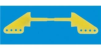 Ruderhorn GFK 24mm (4 Loch/ Bohrung 1,5mm) 2St