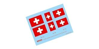 Decor Flaggen Schweiz div. grössen