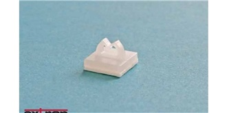 Kabelhalter Mini 4mm selbstklebend 10St