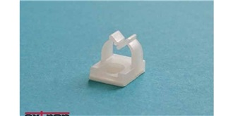 Kabelhalter Mini 6mm selbstklebend 10St