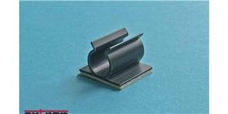 Kabelhalter U-Clip 9mm selbstklebend 5St