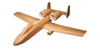 RC Flug Flite Test A-10 Warthog 1573mm Kit