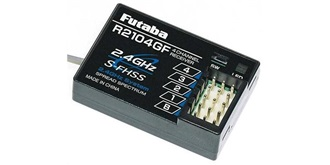 Empfänger FUTABA R2104GF FHSS 4-Kanal