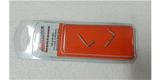 Hochstarthaken Stahl gebogen 2.4x25mm 2St
