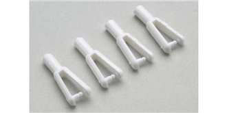 Gabelkopf Kunststoff (für Carbonstab 1.5mm) 5St
