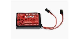 Senderaccu LiPo 6000-1S (3,7V) Graupner