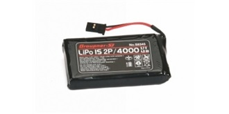 Senderaccu LiPo 4000-1S (3,7V) Graupner