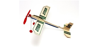 Freiflug Jet Stream Gummimotor Guillow Kit Balsa..