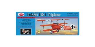Guillow Fokker DR-1 (510mm) Kit Balsaholz
