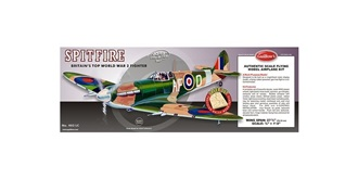 Guillow Spitfire (701mm) Kit Balsaholz