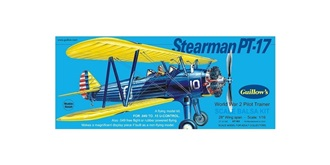 Guillow Stearman PT-17 (711mm) Kit Balsaholz