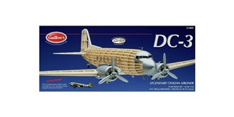Guillow Douglas DC-3 (870mm) Kit Balsaholz