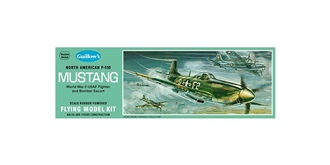 Guillow P-51D Mustang (410mm) Kit Balsaholz