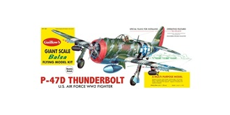 Guillow P47-D Thunderbolt (780mm) Kit Balsaholz