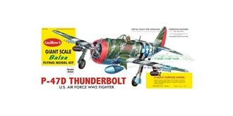 Guillow P47-D Thunderbolt (780mm) Kit Balsaholz