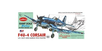 Guillow F4U Corsair (780mm) Kit Balsaholz