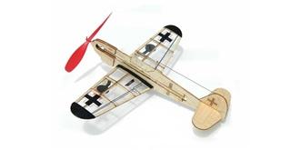 Freiflug Gummimotor German Fighter Kit Balsaholz