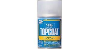 Mr.TopCoat Klarlack halbglanz (semi-gloss) Spray..
