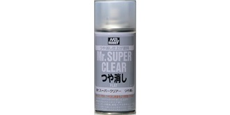 Mr.SuperClear Klarlack matt (flat) Spray 170ml