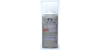 Mr.SuperClear UV Cut Klarlack matt (flat) Spray ..
