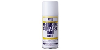 Mr.Finishing Surfacer 1500 weiss Grundierspray 1..