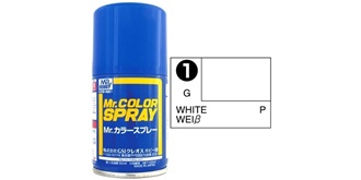 Mr.Color Spray weiss S1 gloss 100ml