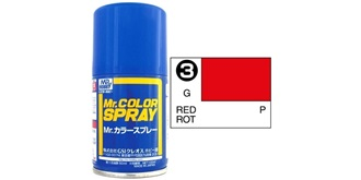 Mr.Color Spray rot S3 gloss 100ml