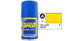 Mr.Color Spray gelb S4 gloss 100ml
