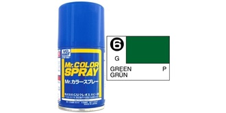 Mr.Color Spray grün S6 gloss 100ml