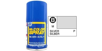Mr.Color Spray silber S8 metallic 100ml