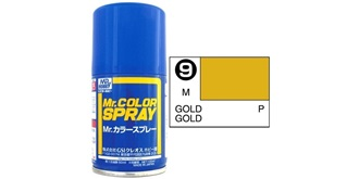 Mr.Color Spray gold S9 metallic 100ml