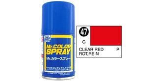 Mr.Color Spray rot transparent S47 gloss 100ml