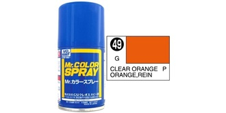 Mr.Color Spray orange transparent S49 gloss 100ml