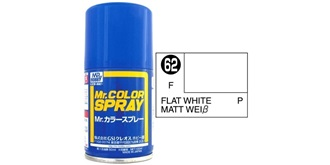 Mr.Color Spray weiss matt S62 flat 100ml