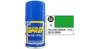 Mr.Color Spray gelbgrün S64 gloss 100ml