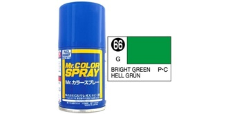 Mr.Color Spray grün (Bright) S66 gloss 100ml