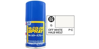 Mr.Color Spray weiss (Off) S69 gloss 100ml