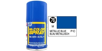 Mr.Color Spray blau metallic S76 gloss 100ml