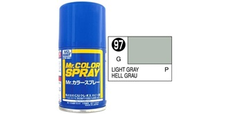 Mr.Color Spray grau hell (USAF) S97 gloss 100ml