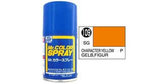 Mr.Color Spray gelb (Figur) S109 semi-gloss 100ml