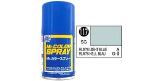 Mr.Color Spray blau (RLM76) S117 semi-gloss 100ml
