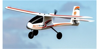 RC Flug Hobbyzone AeroScout S 1100mm BNF SAFE